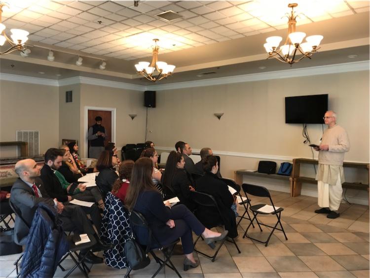 ISKCON News: ISKCON D C  Temple Hosts Israeli Embassy Visit
