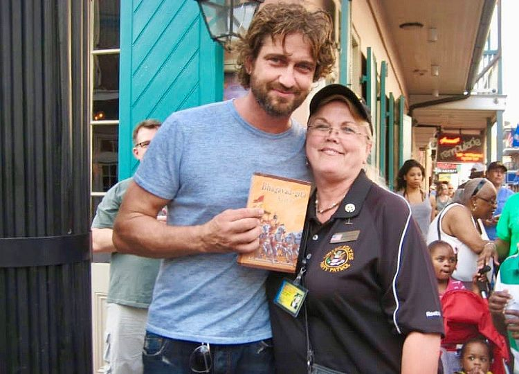 Mohanisini with Gerard Butler