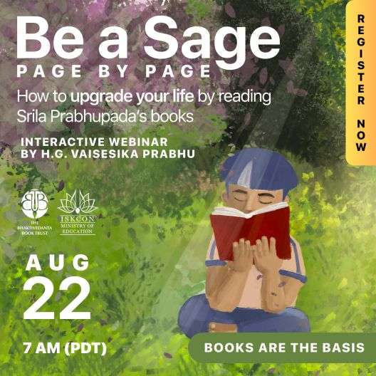 Be A Sage promo