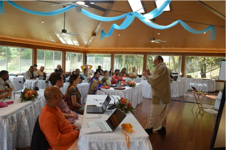 Kaunteya Das teaches strategic planning at the GBC College residential course