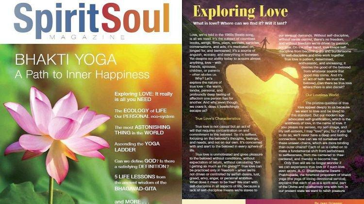 ISKCON News New Magazine Spirit Soul Makes Bhakti Yoga Accessible