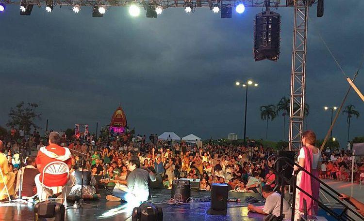 Huge Crowd